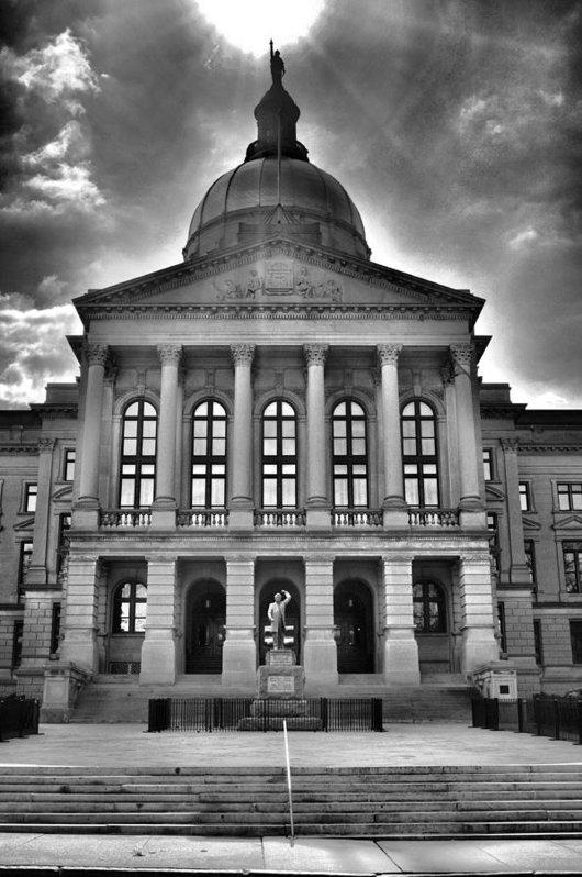 A R Williams - Capitol Dome Print