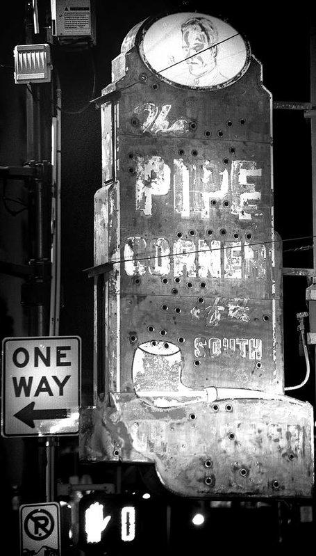 Mark Andrew Thomas - The Pipe Corner Print