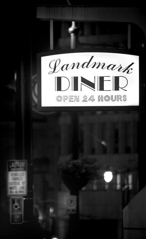 Mark Andrew Thomas - Landmark Diner Print