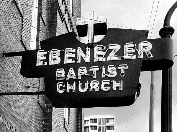 Dominic Piperata - Ebenezer Baptist Church Print
