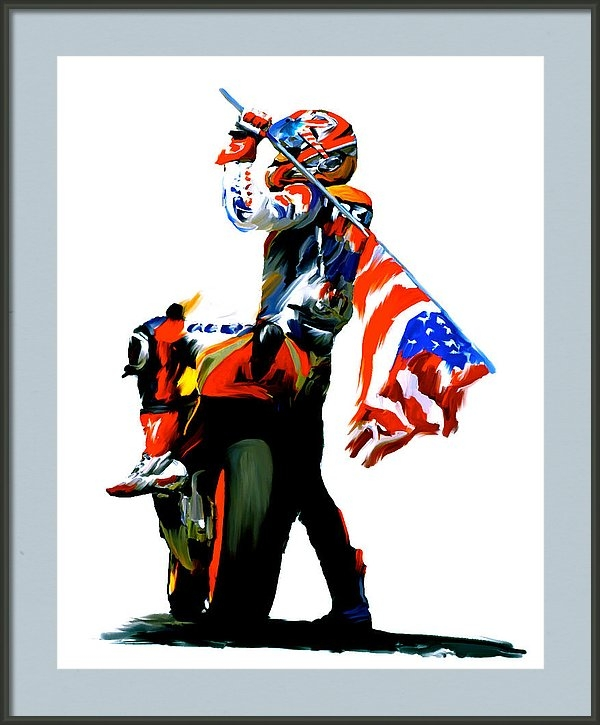 Iconic Images Art Gallery David Pucciarelli - American Revolution VII F... Print