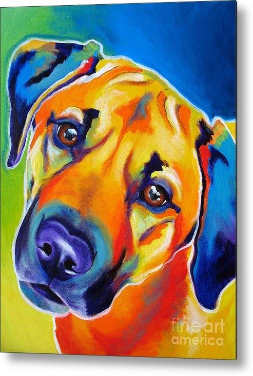 Alicia VanNoy Call - Rhodesian Ridgeback - Pup... Print
