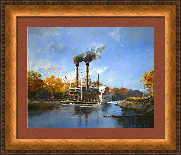 Werner Pipkorn - Antioch on the Mississipp... Print