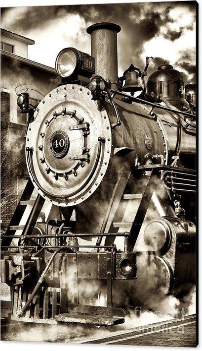 John Rizzuto - Vintage Locomotive Print