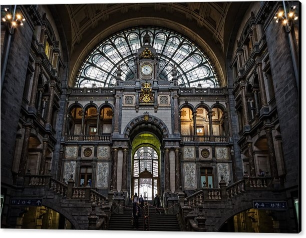 Joan Carroll - Antwerp Train Station II Print