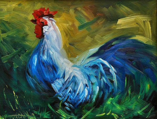 Diane Whitehead - Rowdy Rooster Print