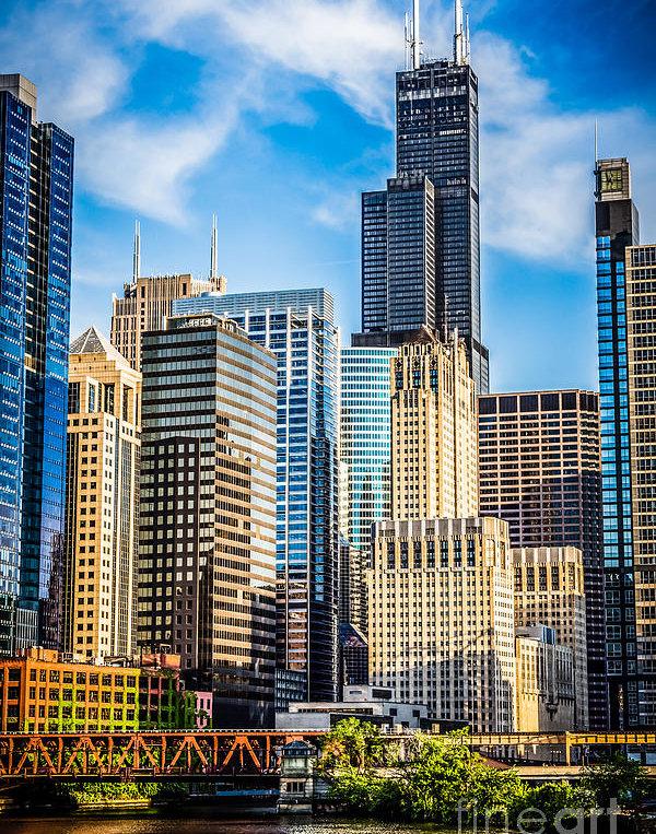 Paul Velgos - Chicago High Resolution P... Print