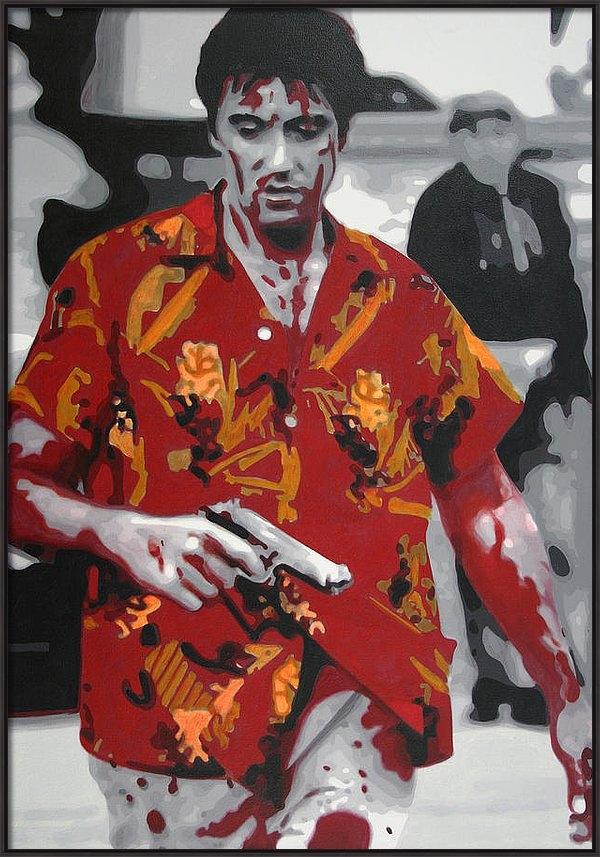 Luis Ludzska - Scarface 2013 Print