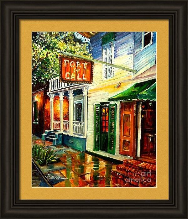 Diane Millsap - New Orleans Port of Call Print