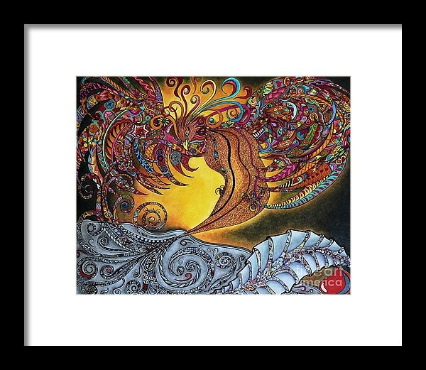 Rebeca Rambal - Phoenix Rising Print