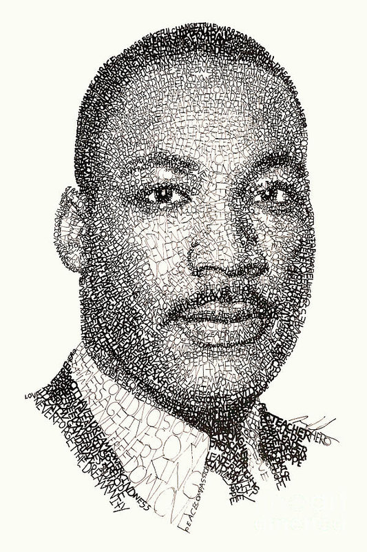 Michael Volpicelli - Martin Luther King Jr Print