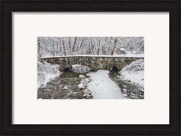 Jack Paolini - Struble Trail Bridge  Print