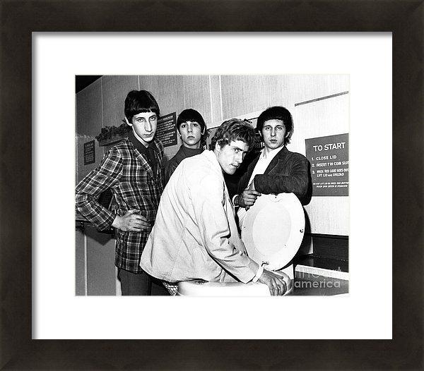 Chris Walter - The Who 1966 Print
