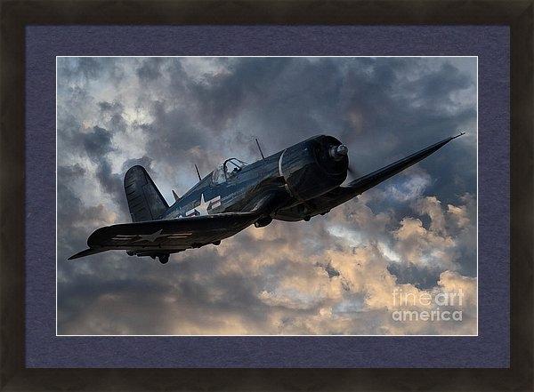 J Biggadike - F4 Corsair Tribute Print
