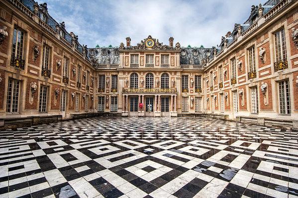 Pierre Leclerc Photography - Chateau Versailles France Print