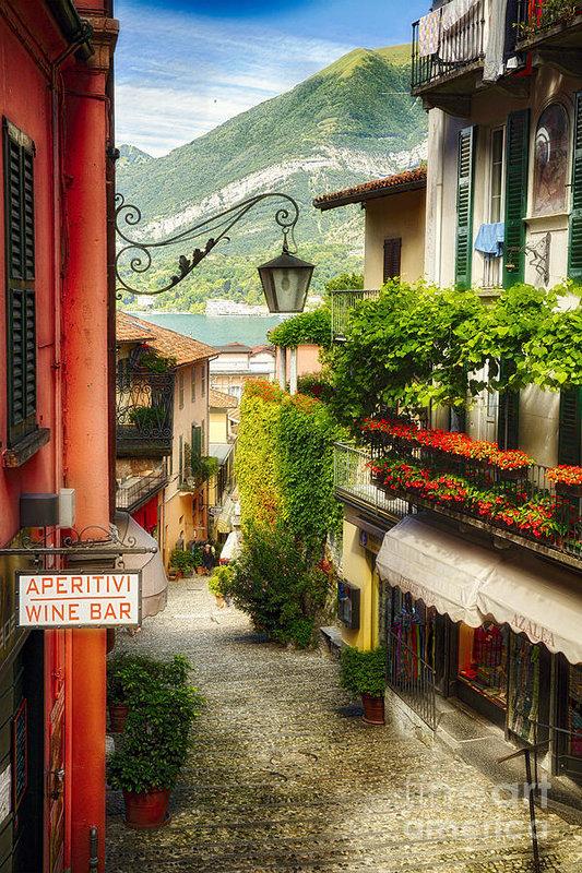 George Oze - Bellagio Street Charm Print