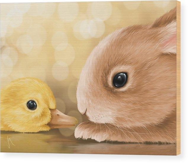 Veronica Minozzi - Happy Easter 2014 Print