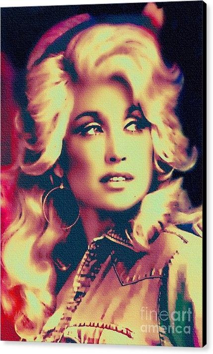 Ian Gledhill - Dolly Parton - Vintage Pa... Print