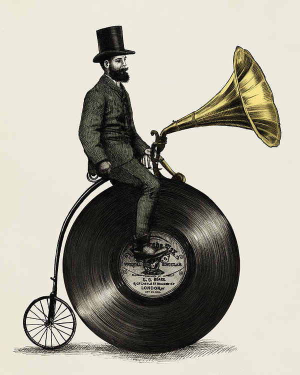 Eric Fan - Music Man Print