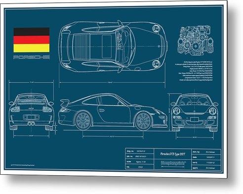Douglas Switzer - Porsche GT3 911/Type 997 Print