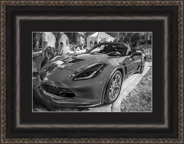 Rich Franco - 2015 Chevrolet Corvette Z... Print