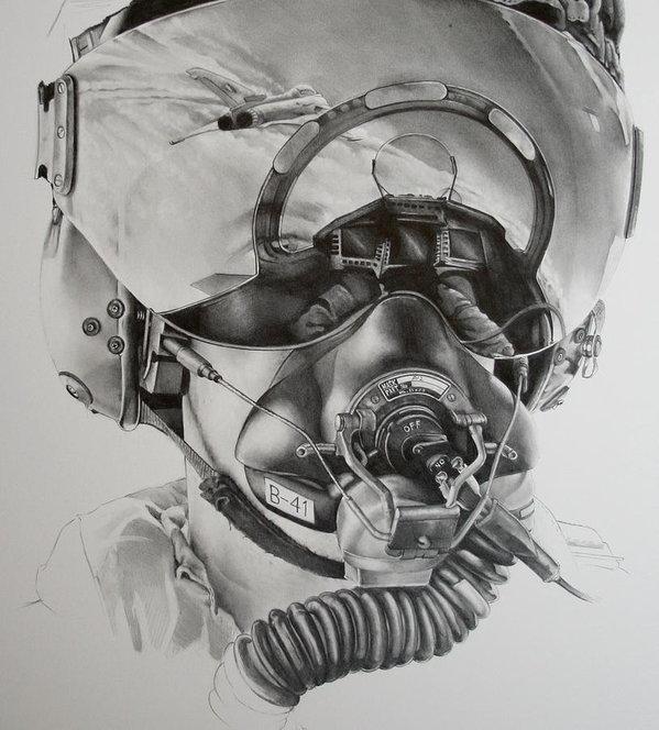 James Baldwin Aviation Art - The driver Print