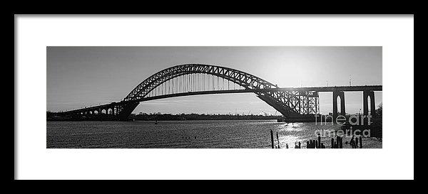 Michael Ver Sprill - Bayonne Bridge Panorama B... Print