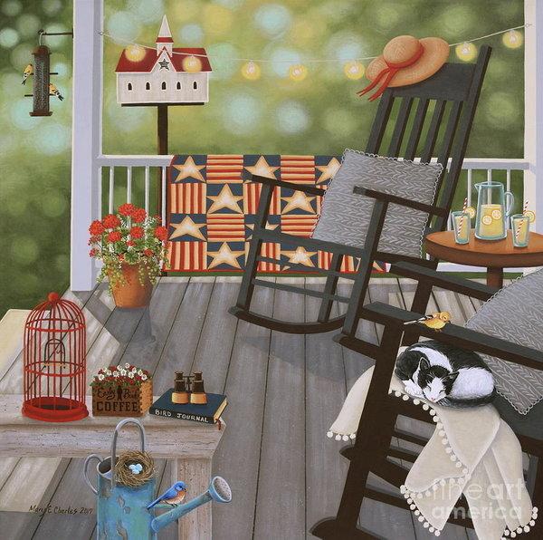 Mary Charles - The Bird Watcher Print