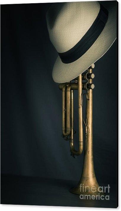 Carlos Caetano - Jazz Trumpet Print