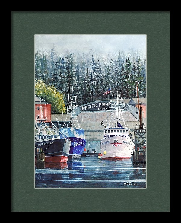 Bill Hudson - The Deadliest Catch Off S... Print