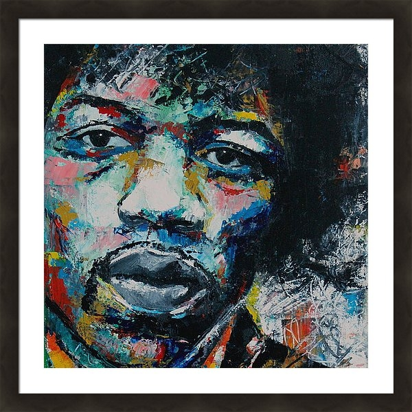 Richard Day - Jimi Hendrix Print