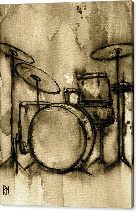 Pete Maier - Vintage Drums Print
