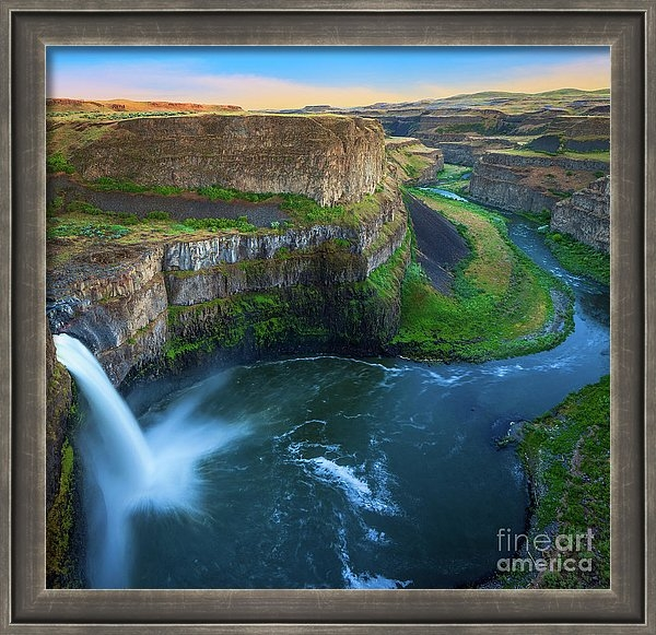 Inge Johnsson - Palouse Falls Pool Print