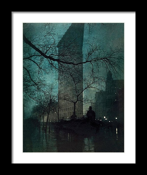 Edward Steichen - The Flatiron Building Print