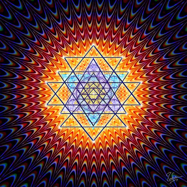 Endre Balogh - Sacred Geometry 141 Print