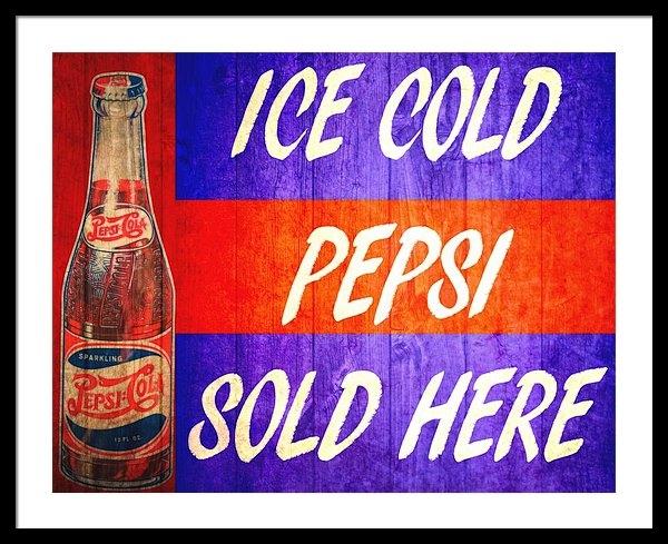 Dan Sproul - Vintage Pepsi Cola Barn D... Print
