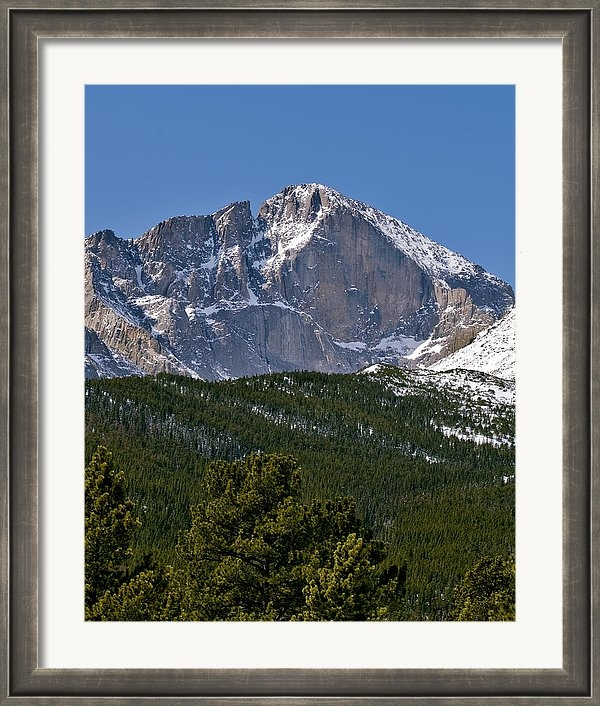 Brendan Reals - The Diamond on Longs Peak... Print