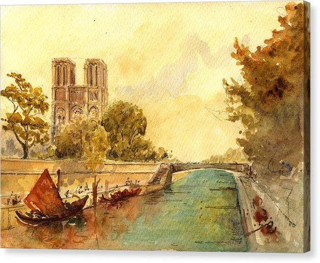 Juan  Bosco - Notre Dame Paris. Print