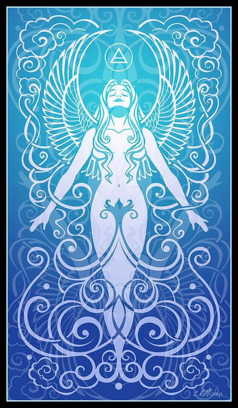 Cristina McAllister - Air Spirit Print