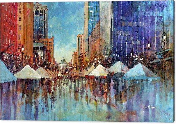 Dan Nelson - Winterfest 2013 Print