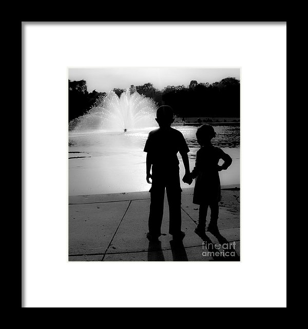 Brooks Creative -Photography and Artwork By Anthony Brooks - Come With Me Lil Sis Print