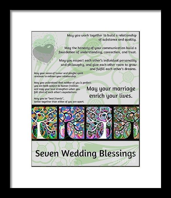 Sandra Silberzweig - Jewish Seven Wedding Bles... Print