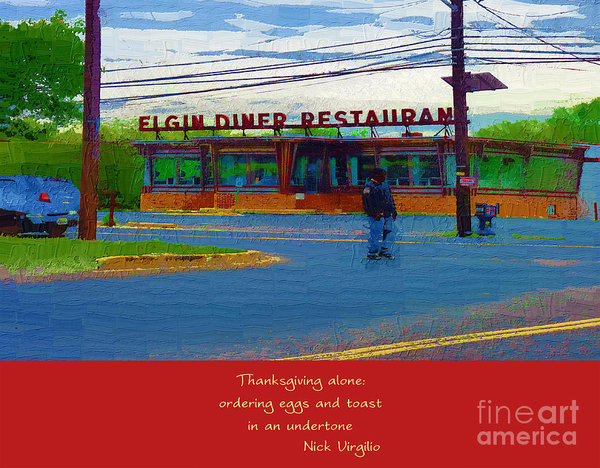 Rick Black - Elgin DIner in Camden NJ Print