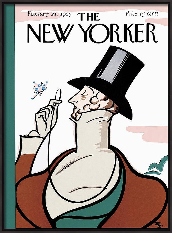 Rea Irvin - The New Yorker Cover - Fe... Print