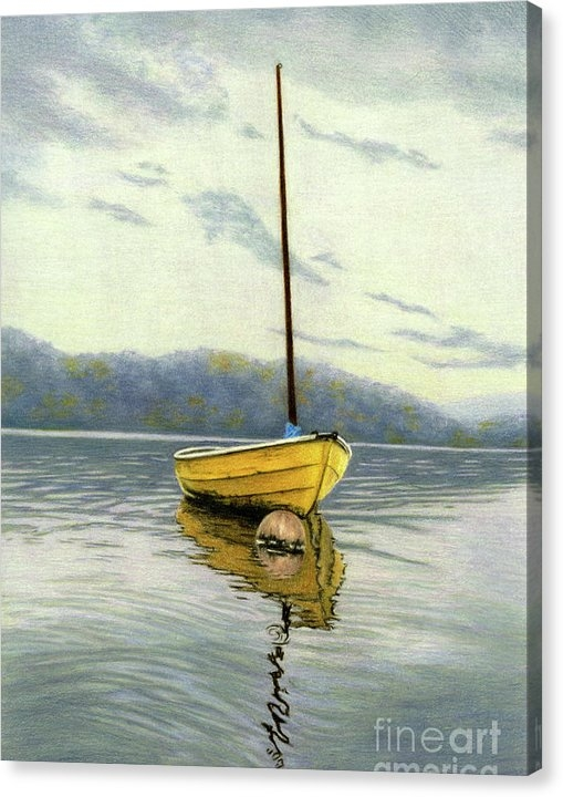 Sarah Batalka - The Yellow Sailboat Print