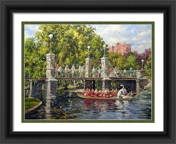 Gary Shepard - Boston Swan Boat Print