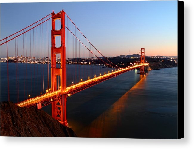 Pierre Leclerc Photography - Iconic Golden Gate Bridge... Print
