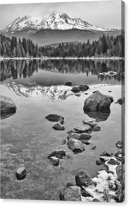 Jamie Pham - Mount Shasta Reflection Print