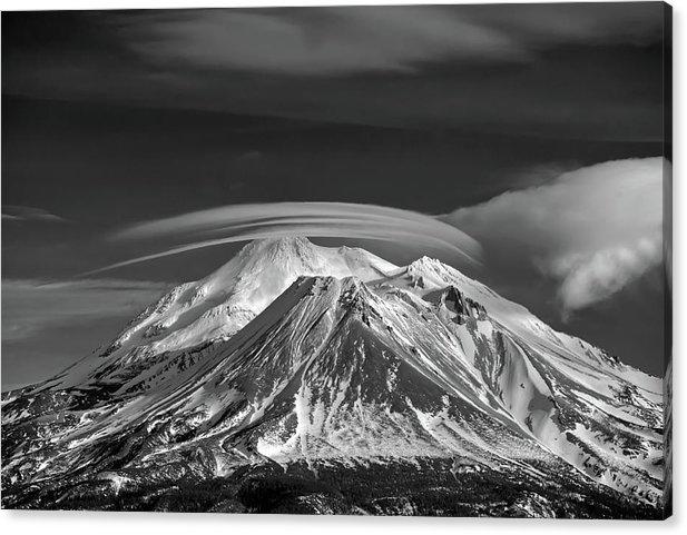 Jacquie Thuemler - Mount Shasta  Print