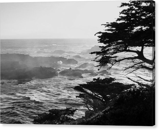 David Lobos - Sunset at Point Lobos Print